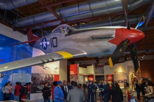 New exhibits in Hangar Two